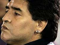 Maradona's Diamond Earring Saves Him from Prison