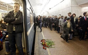 Russia Mourns Victims of Subway Bombings