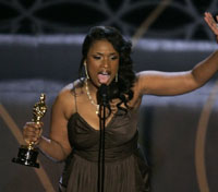 Oscar nominee Jennifer Hudson to celebrate her success at family church