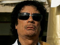 Gaddafi hoped to stay in power with Israel's help. 45864.jpeg