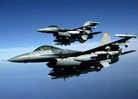 US jets violate Iran's airspace