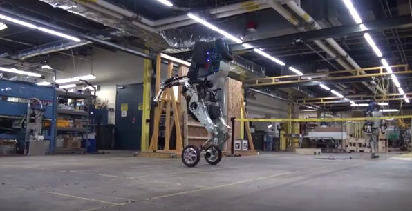 Boston Dynamics shows off new fast, jumping robot