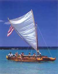 Hawaiian canoes make first landfall after long journey