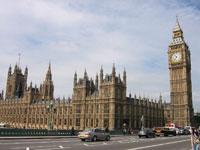 Lines cause argument in British Parliament