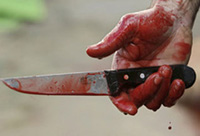 Man stabs friend between legs over his birthday prostitute