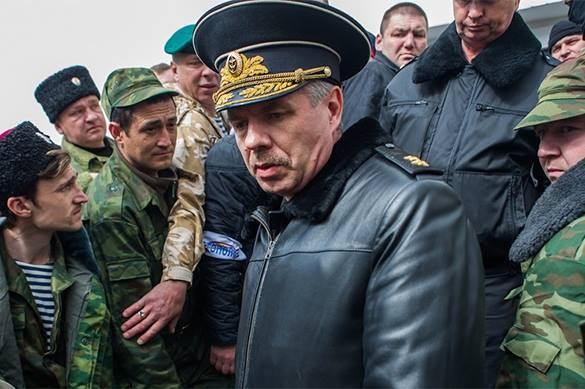 "Ukraine ""arrests"" Russian Black Sea Fleet Commander by correspondence. Vitko"