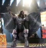 Tens of thousands of Finns party for Eurovision shock-winner Lordi monster band