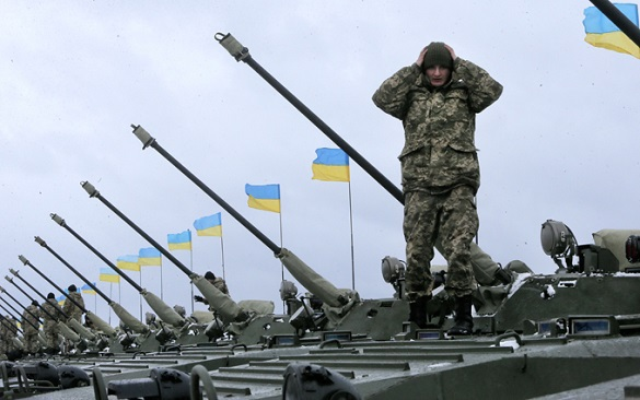 Global powers show their force in Ukraine. Ukraine as victim of global powers