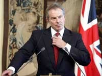 Tony Blair bows out, Gordon Brown takes power in Britain today