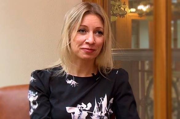 Russian Foreign Ministry spokeswoman: Peace is treasure that we need to cherish. Maria Zakharova