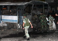 Bomb explodes in passenger bus in central Russian city