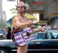 Naked Cowboy files suit against Mars Inc. for illegal usage of his image