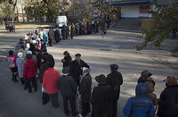 Luhansk and Donetsk People's Republics show record vote turnout. 53879.jpeg