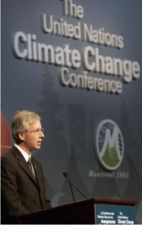 EU's chief environmental official urges US and Australia to cut greenhouse gases