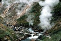 Devastating mudslide destroys Russian Valley of Geysers