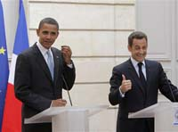 Nicolas Sarkozy Attacks America