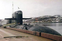 Fire on board Russian submarine caused by technical failures, navy commander