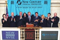 New Century Financial Corp. filed Monday for bankruptcy protection