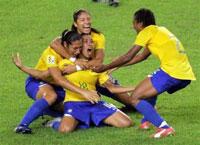Brazil beats US women's soccer team 4-0