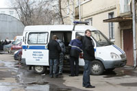 Bottle of Urine Underneath Police Vehicle Taken for Bomb in Moscow