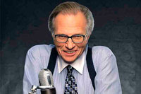 Larry King Decides to Hang Up His Nightly Suspenders