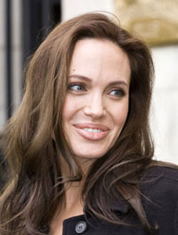 Hollywood Star Angelina Jolie Visits Iraq