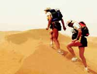 Three insane athletes run across Sahara Desert for no reason