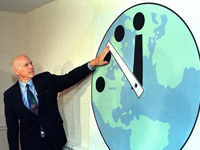 Doomsday Clock Shows New Time