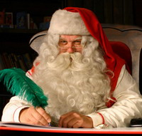Santa Claus to ride by bus this holiday season
