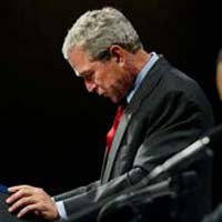 Bush deeply disappointed with voting results