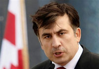 Georgia's Saakashvili does his best to blacken Russia and please the West