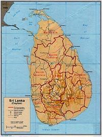 Sri Lanka accuses rebels of shooting at ancient shrine