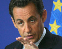 Nicolas Sarkozy wants firm figures on climate change from George Bush