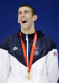 Michael Phelps wins title of Olympic God