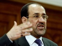 Al-Maliki halts construction of wall around Sunni in Baghdad