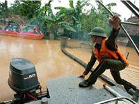 Typhoon Ketsana Kills Vietnameses