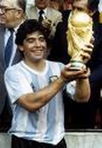 Maradona is to stay in hospital for two weeks