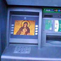 Priests try to keep up with time to make money on SMS messages and ATMs