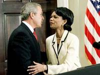 The sheer hypocrisy of Bush and Rice