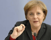 Merkel calls for new partnership agreement with Russia, Doha deal, constitution by 2009