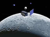 Lunar probe operating normally, on planned trajectory, China government agency says