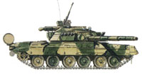 T80 tank to play home match at VTTV-2007 defense exhibition in Siberia