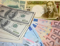 Yen drop encourages investors to risk