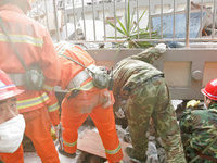 Death toll in China's Sichuan earthquake continues to climb. 49900.jpeg
