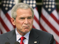 Bush to Putin: 'Vladimir, you shouldn't fear a missile defense system'