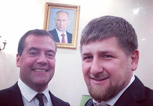 Kadyrov and Medvedev post selfie with world's most influential man. 53904.jpeg