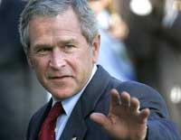 Bush angry with Democrats for inability to finish spending bills