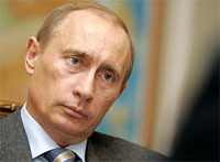 Vladimir Putin: 'We don't allow others to interfere in our politics'