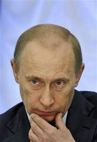 Time magazine names Putin one of world's 100 most influential people