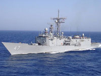 Somali Pirates Mistake US Frigate for Cargo Boat